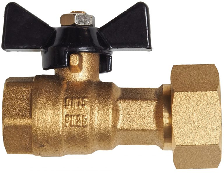 GREENLINE valve for DN15 watermeter